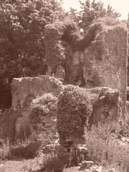 Haroldston Ruins, Haverford west. Pic: G L Davies