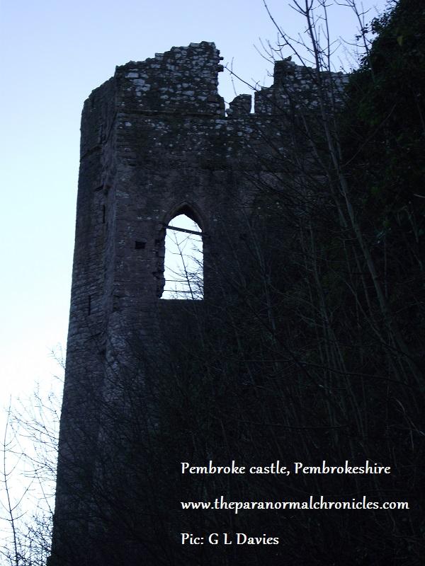 Pembroke Castle, Pembrokeshire.
