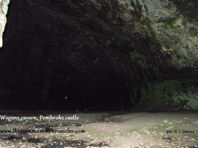 Wogans cavern. Pembroke Castle