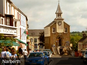 Narberth, Pembrokeshire. Visit it.