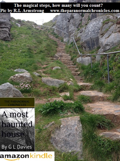 The magical steps of St Govan's Chapel