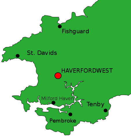 Haverfordwest, Pembrokeshire.
