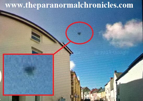 UFO captured over Haverfordwest, Wales?