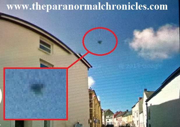 UFO captured over Haverfordwest, Wales?