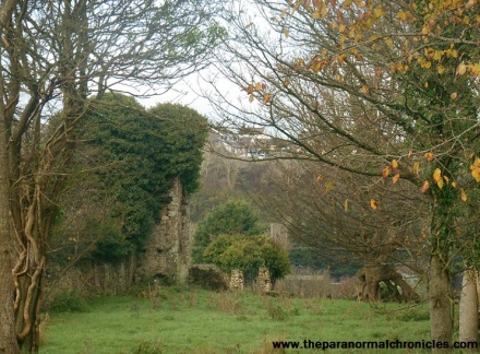 Haroldston ruins is home to many paranormal encounters. Could this location be responsible for the Clay lanes hauntings?