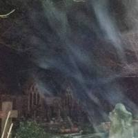 Paranormal activity captured in Haverfordwest?