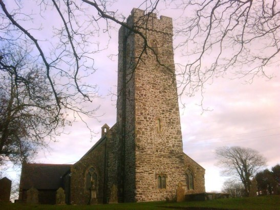 Steynton Church is by the roadside where the chilling spectre is said to be seen? is there a connection?