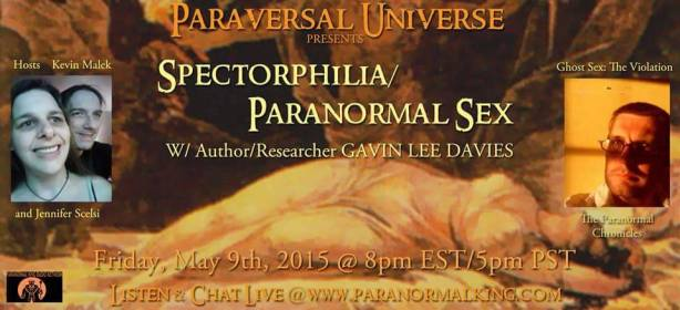 Click now to listen to the 2 hour discussion on Paranormal sex