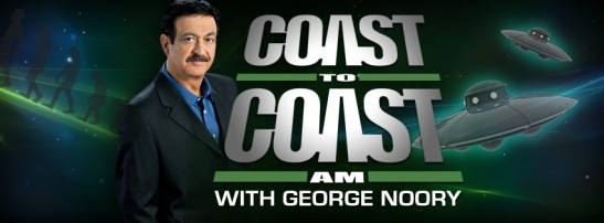 Click, now to listen link through to Coast to Coast A.M