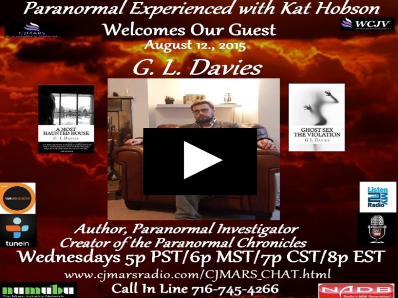 Click now to listen to G L Davies and Keryn Williams on Paranormal experienced with Kat Hobson