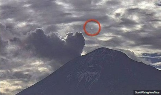 The Mexican Cigar shaped UFO