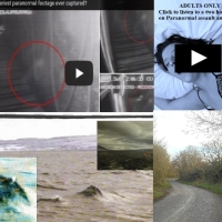 Best Ever footage of a Ghost? Loch Ness Monster explained? Poltergeist activity and a families roadside terror!