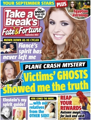 Take a break: Fate and Fortune (August 2015) Featured a revealing article on the Pembrokeshire haunting.