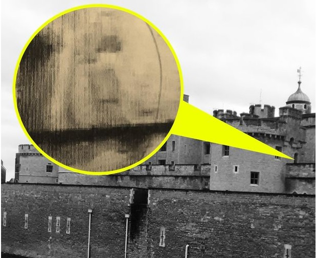Are these the haunting images of the two tragic historical Princes at the Tower of London?
