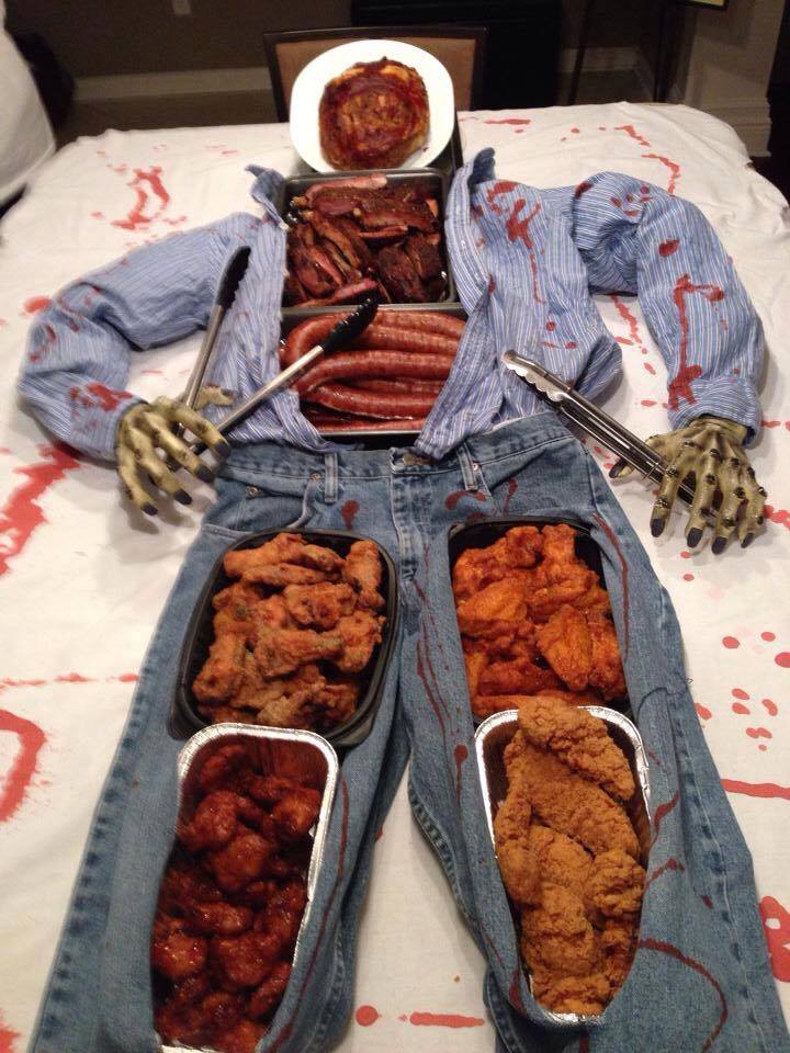 The perfect Halloween Buffet!