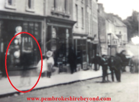 The Pembroke Ghost. Thanks to www.pembrokeshirebeyond.com