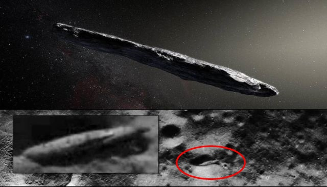 Oumuamua asteroid space