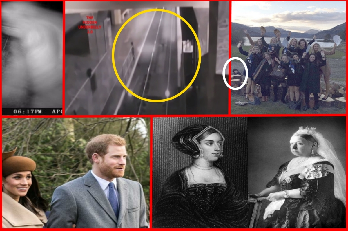 Tragic Ghost pic, Ghost train filmed, Bigfoot exists & which Royal Ghost will be at Harry and Megans Wedding?