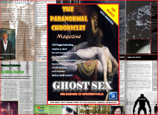 Click to see the full  story! The best Ghost picture and more in Issue 1 of the FREE paranormal Chronicles magazine. Click to see!!