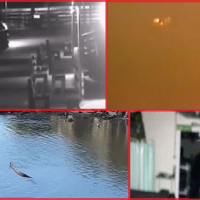 NEW CREEPY GHOST pics, Strange Creature filmed and UFO sighting worries...