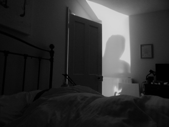 ghost in bed pic